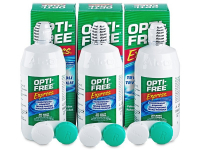 снимка - Разтвор OPTI-FREE Express 3 x 355 ml