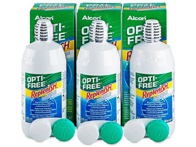 Разтвор OPTI-FREE RepleniSH 3 x 300 ml