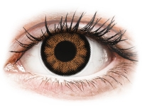 снимка - ColourVUE BigEyes Sexy Brown - с диоптър