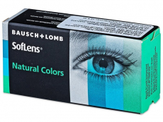 SofLens Natural Colors Aquamarine - с диоптър (2 лещи)