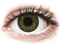 снимка - FreshLook ColorBlends Gemstone Green - с диоптър