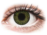 снимка - FreshLook ColorBlends Green - с диоптър
