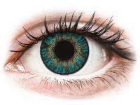 снимка - FreshLook ColorBlends Turquoise - с диоптър