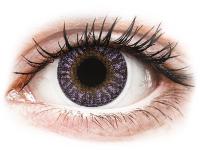 снимка - TopVue Color - Виолетови - без диоптър (2 лещи)