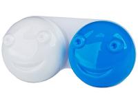 снимка - Кутийка за лещи 3D - синя