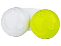снимка - Кутийка за лещи 3D - жълта