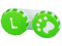 снимка - Кутийка за лещи Paw зелена