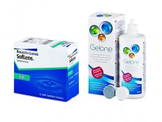 SofLens 38 (6 лещи) + разтвор Gelone 360 ml