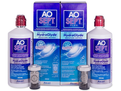Разтвор AO SEPT PLUS HydraGlyde 2x360 ml