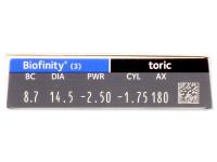 Biofinity Toric (3лещи)