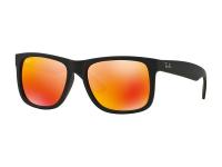 снимка - Слънчеви очила Ray-Ban Justin RB4165 - 622/6Q с червени стъкла