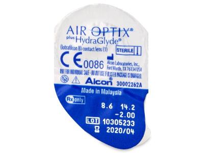 Air Optix plus HydraGlyde (6 лещи)
