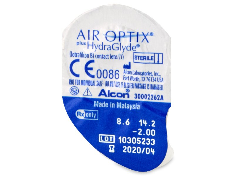 Air Optix plus HydraGlyde (6 лещи)