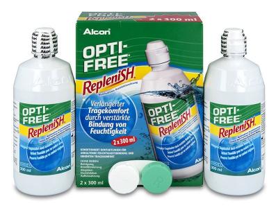 Разтвор OPTI-FREE RepleniSH 2 x 300 ml