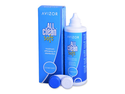 Avizor All Clean Soft разтвор 350 ml