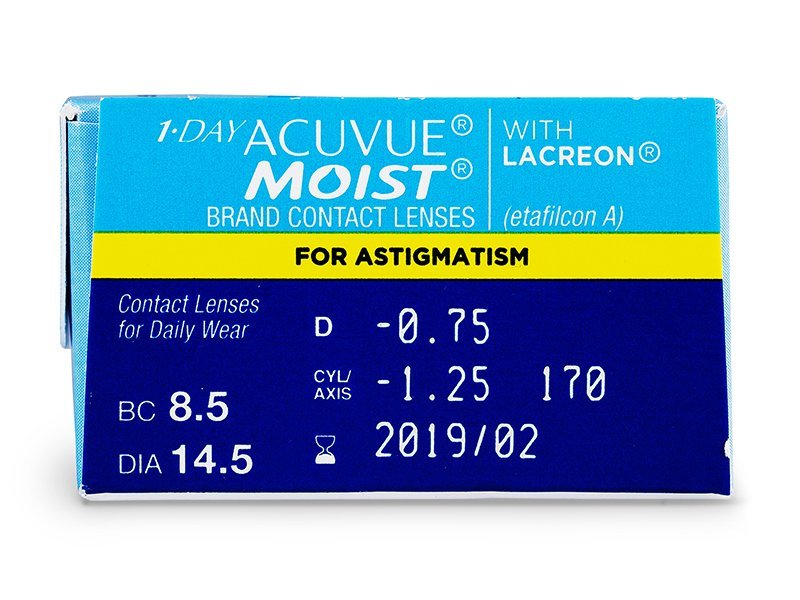 1 Day Acuvue Moist for Astigmatism (30лещи)